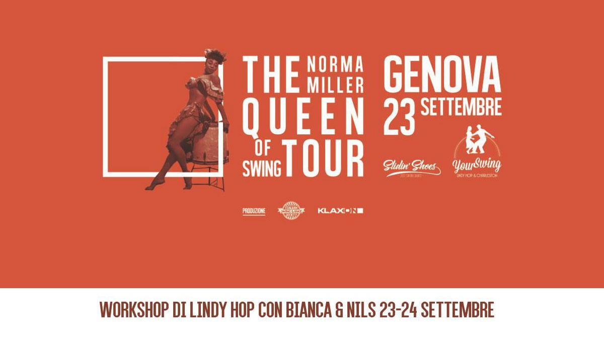 The Queen of Swing Tour - Genova