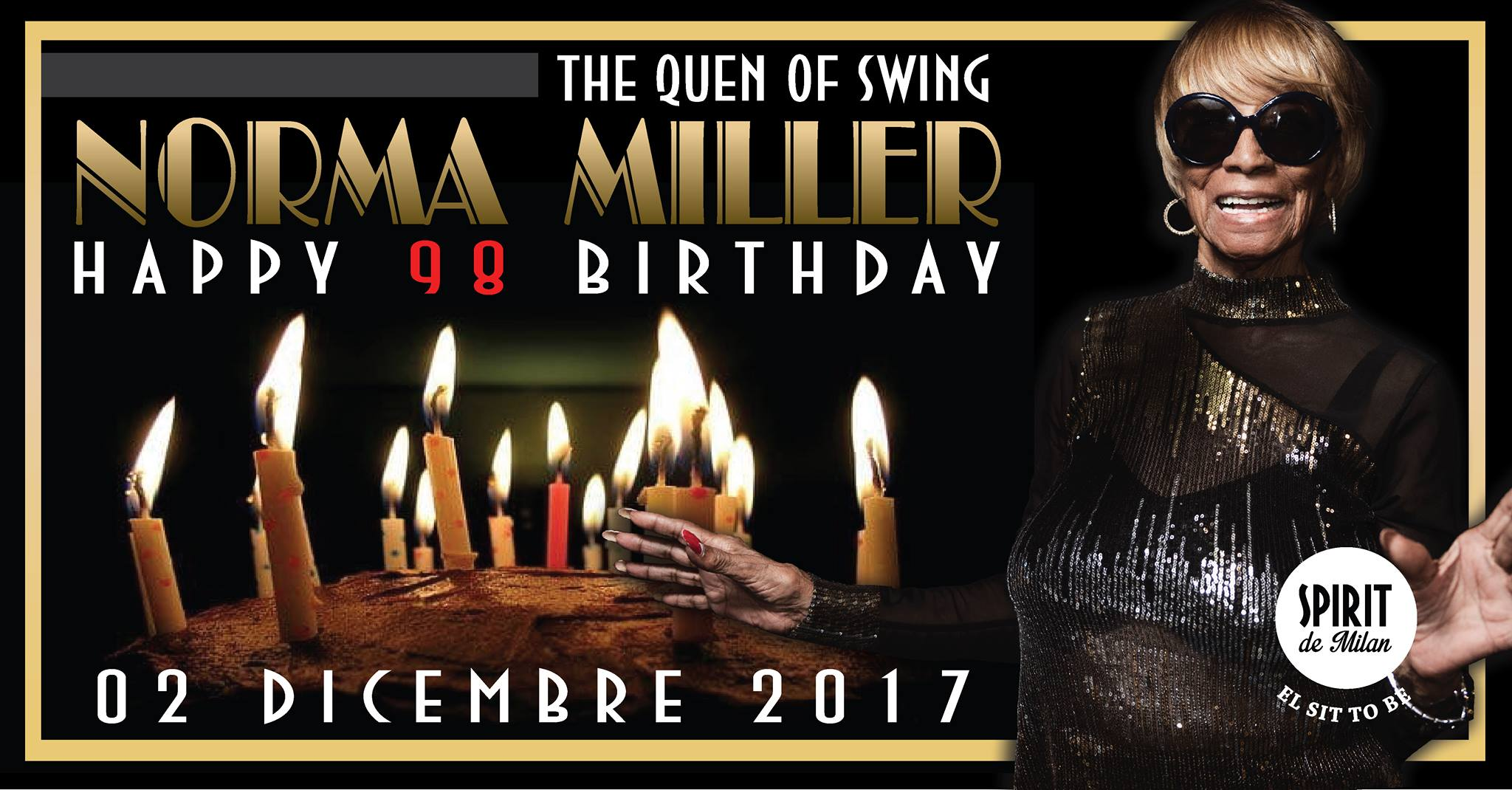 Torna the Queen of Swing, Norma Miller! Happy 98 Birthday