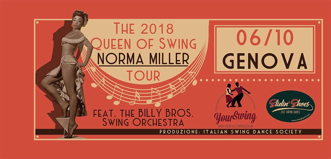 Norma Miller Weekend - Genova